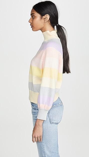 PAPER London Dahlia 条纹针织衫