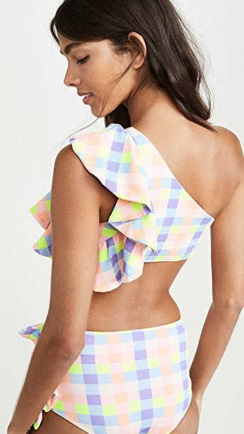 PAPER London Coconut Bikini Top