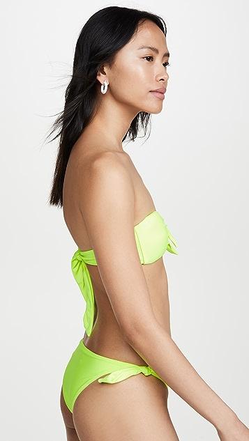 PAPER London Bandeau Bikini Top