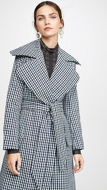 PAPER London 有领大衣