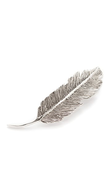 PLUIE Feather Barrette