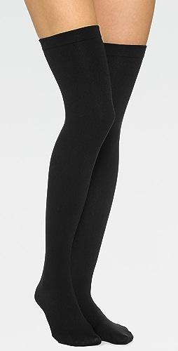 Plush - Fleece Lined Thigh High Socks