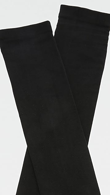 Plush Fleece Lined Thigh High Socks