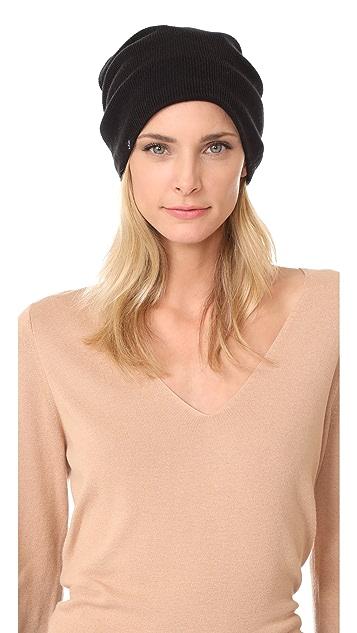 4207c855935 Plush Barca Slouchy Fleece Lined Hat