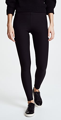 Plush - 绒布衬里贴腿裤