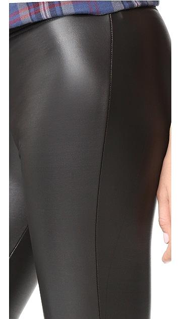 Plush Fleece Lined Liquid Leggings