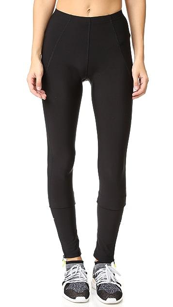 2255234288e6 Plush Fleece Lined Zippered Running Leggings
