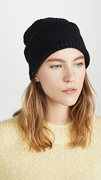 Plush Ribbed Fleece Lined Beanie