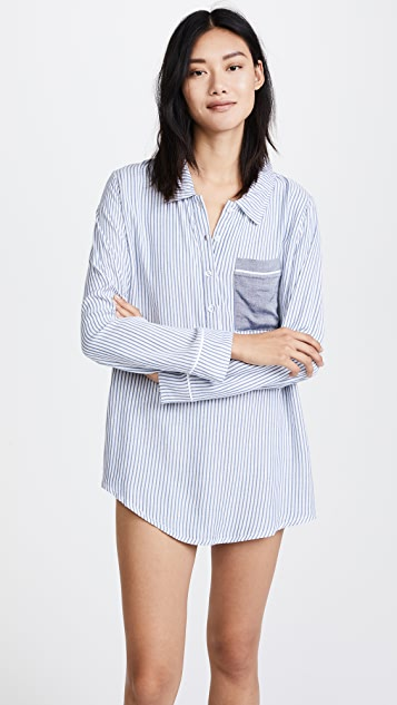 Plush Boyfriend Sleep Shirt