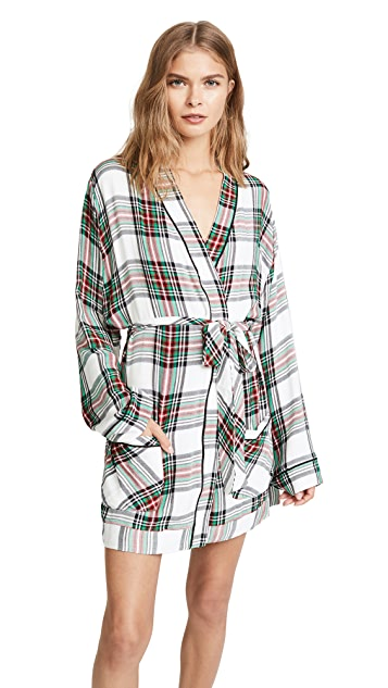 Plush Woven Robe