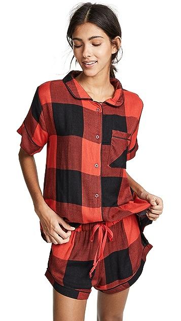 Plush Очень мягкая пижама из ткани