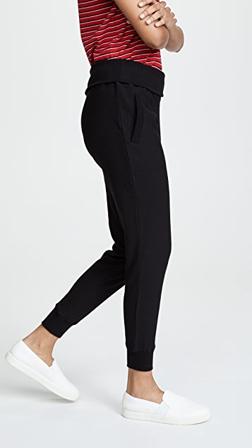 Plush Ultra Soft Fold Over Joggers