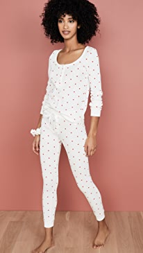 Thermal Heart PJ Set with Scrunchie