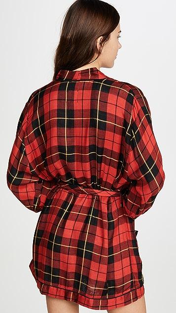 Plush 超柔软格子礼服