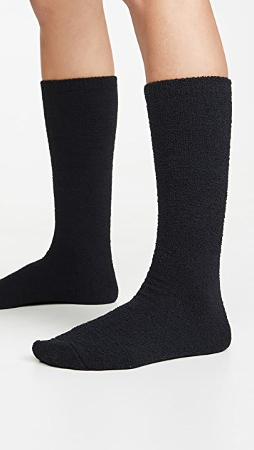 Plush Fleece Knee High Socks