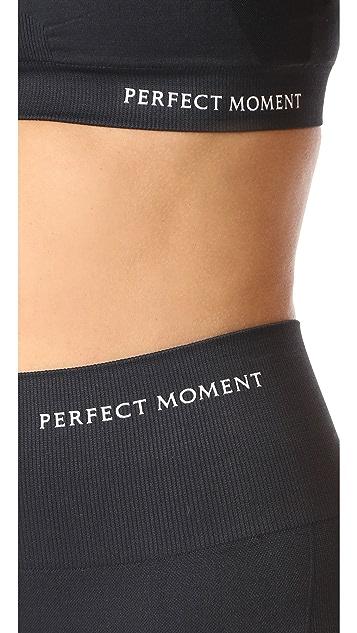 Perfect Moment Intarsia High Waist Leggings