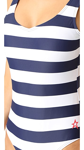 Perfect Moment Stripe One Piece