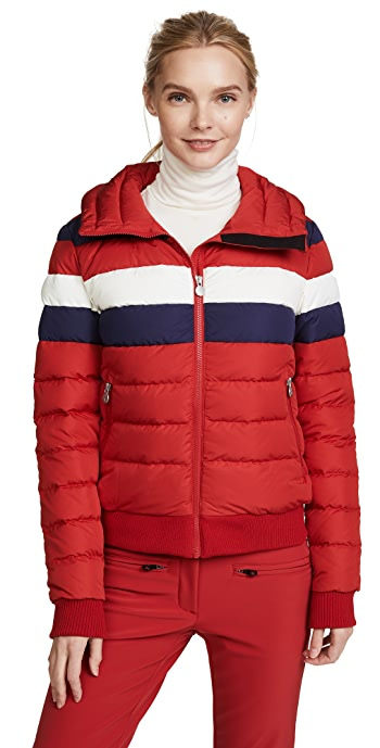 Perfect Moment Queenie Jacket - Red Rainbow