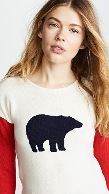 Perfect Moment Bear Crew Sweater