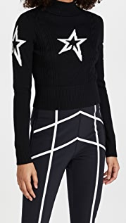 Perfect Moment Cable Underwear Sweater