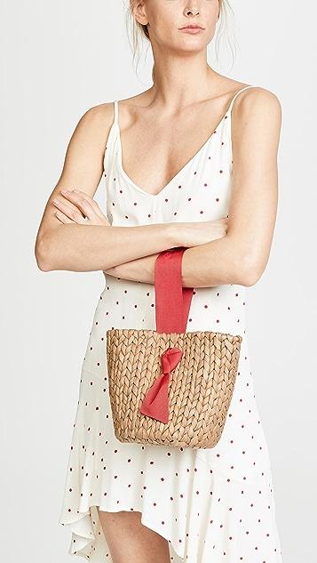 PAMELA MUNSON Isla Bahia Petite Basket Bag
