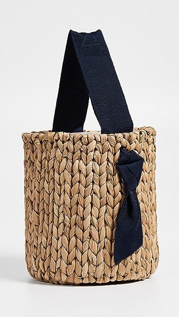PAMELA MUNSON Миниатюрная сумка-корзинка Isla Bahia