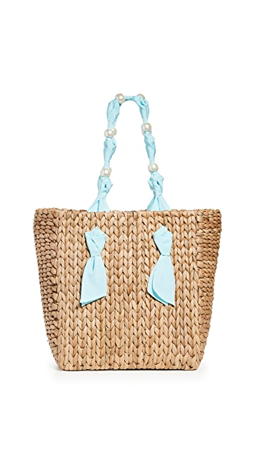 PAMELA MUNSON Petite Isla Bahia 人造珍珠包