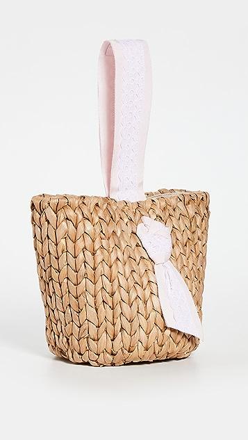 PAMELA MUNSON Petite Isla Bahia Basket Lace Bag