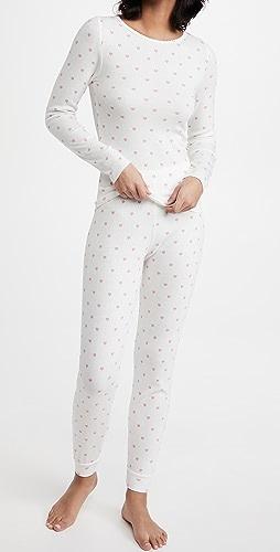 Polkadot England - Val 贴合版型上衣和慢跑裤套装