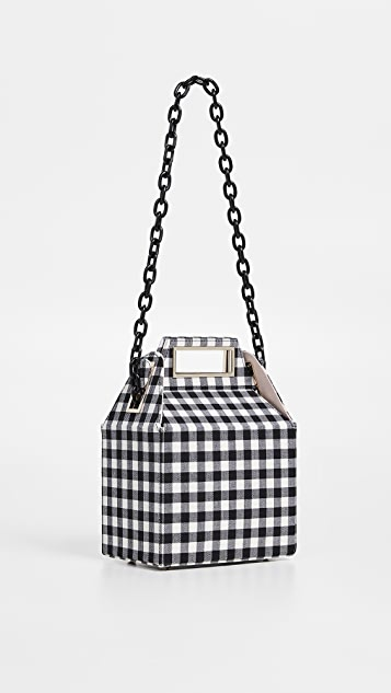 Pop & Suki Take Out Bag with Chain Strap