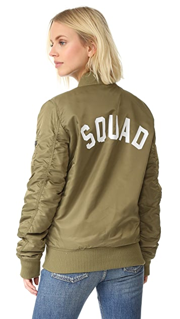 Private Party Squad Bomber Jacket