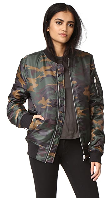 Private Party Champagne Campaign Bomber Jacket