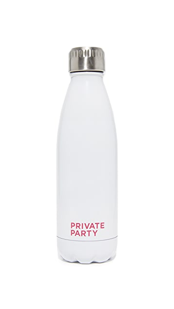 Private Party Rose All Day Water Bottle
