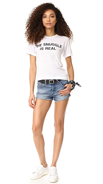 Private Party The Snuggle is Real Tee