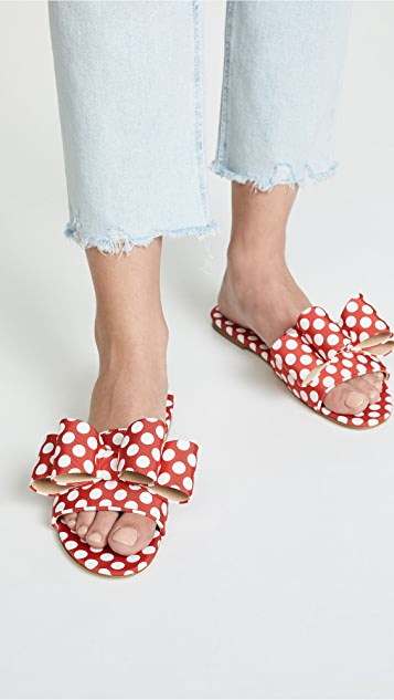 Polly Plume Lola Bow Slides
