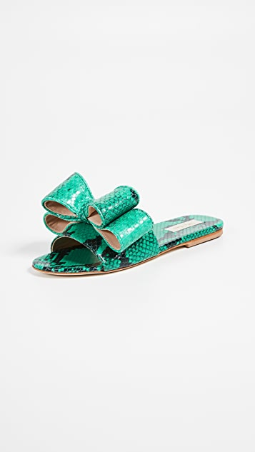 Polly Plume Lola Bow Slide