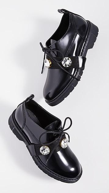 Polly Plume Kara Rock 牛津鞋