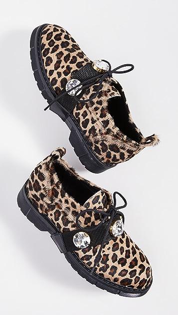 Polly Plume Kara Zoo 牛津鞋
