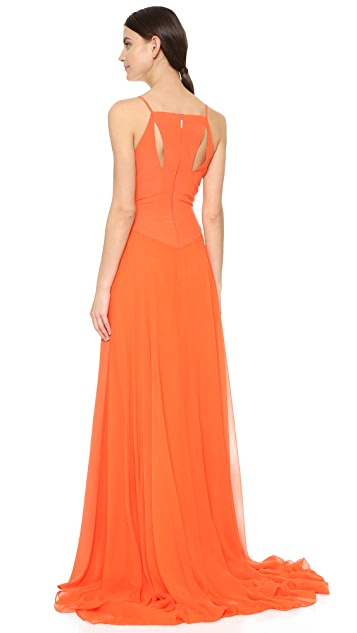 Prabal Gurung Silk Gown