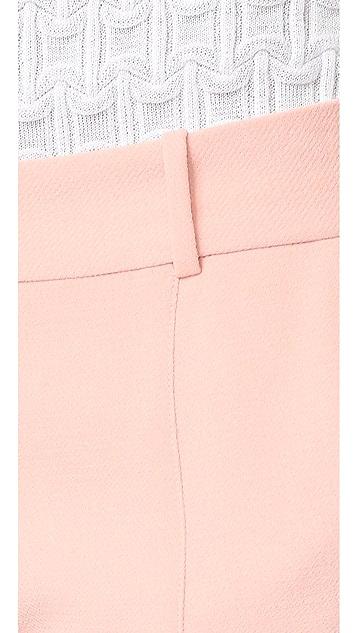 Prabal Gurung Molded Seam Pants