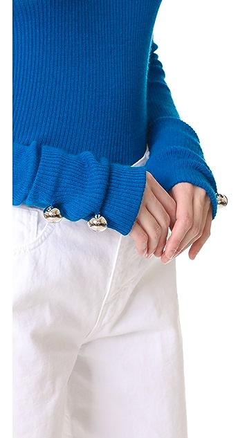 Prabal Gurung Thin Cashmere Sweater