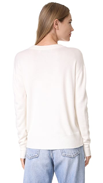 Prabal Gurung Sequin Embroidered Sweater