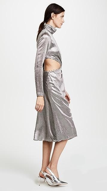 Prabal Gurung Twist Dress with Cutout