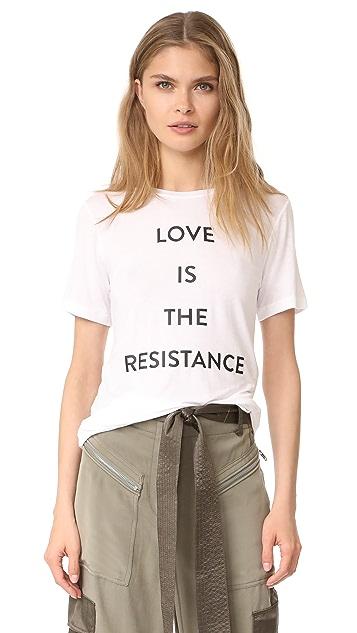 Prabal Gurung Love is the Resistance Tee