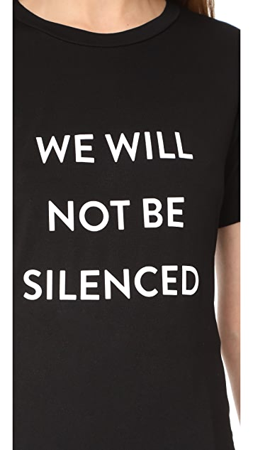 Prabal Gurung We Will Not Be Silenced Tee