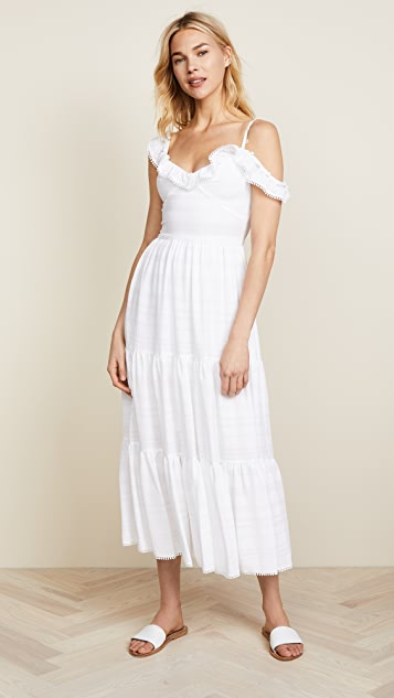 Prabal Gurung Tiered Ruffle Sundress