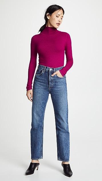Prabal Gurung Carina Cashmere Turtleneck Sweater