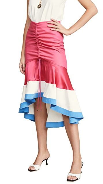 Prabal Gurung Асимметричная юбка Binod