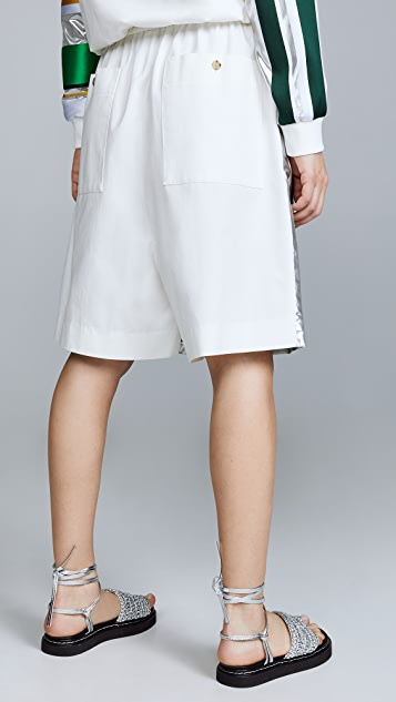 Prabal Gurung Drawstring Shorts