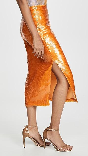 Prabal Gurung Sequined Pencil Skirt